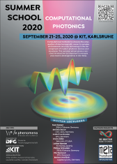 Thumbnail of the flyer/poster to the summer school 2020