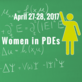 Women in PDEs